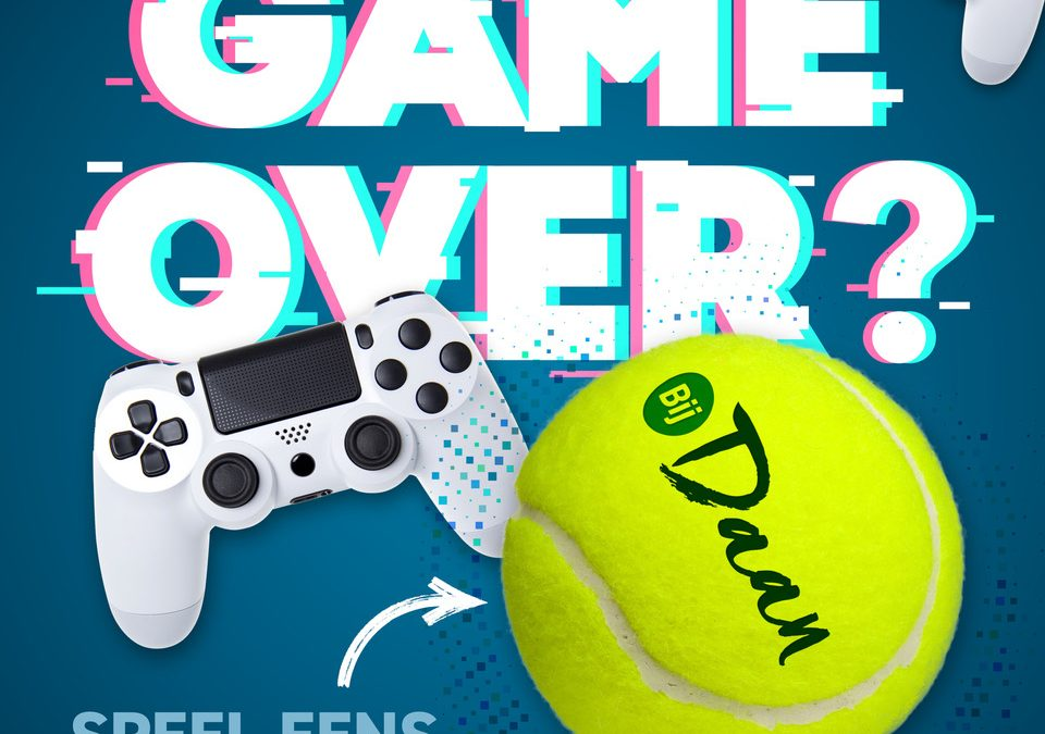 Proeven aan Tennis jeugd 2021