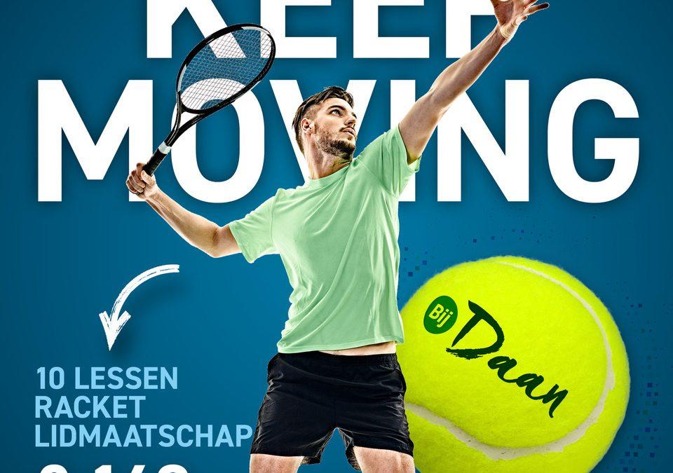 Proeven aan Tennis senioren 2021